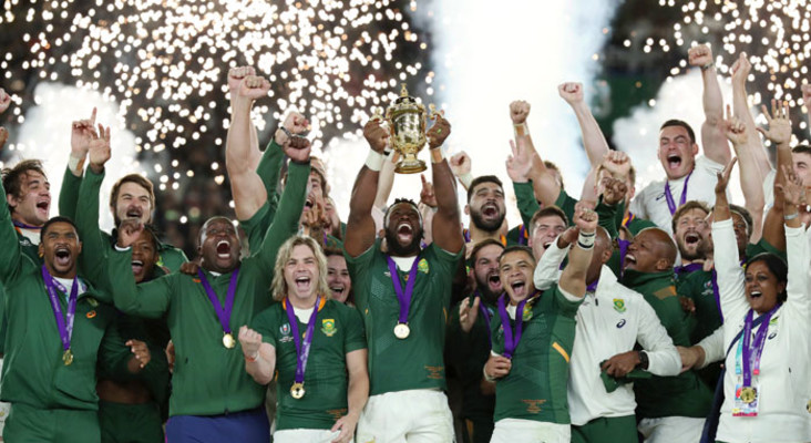 The Springboks RWC Champions Tour stops in South Africa