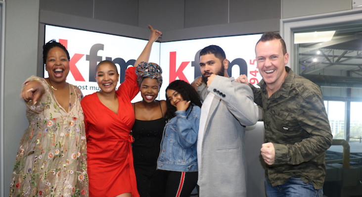 Craig Lucas, Paxton and Yanga - The Cape's Winning Trio LIVE on Kfm Mornings