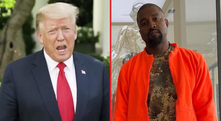 [LISTEN] Kanye West vs Donald Trump Rap Battle