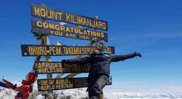 She did it! Mrs SA reaches Kilimanjaro summit after Everest health scare
