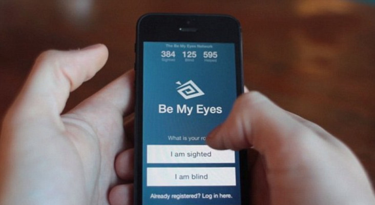 BeMyEyes app helps the blind get another set of eyes