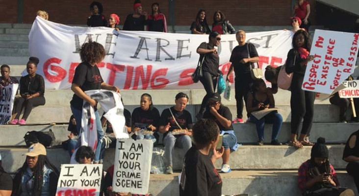 #TotalShutDown marches in SA get international support