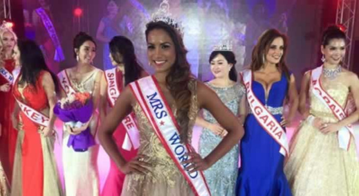 Mrs World lands in SA