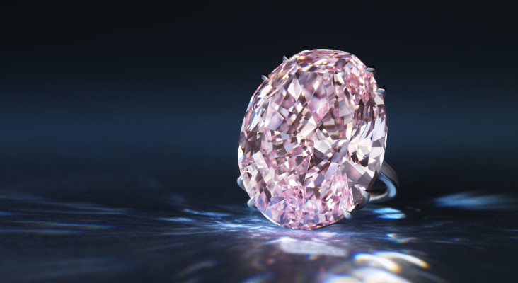 "Sotheby's to auction R760 million South African diamond (""The Pink Star"")"