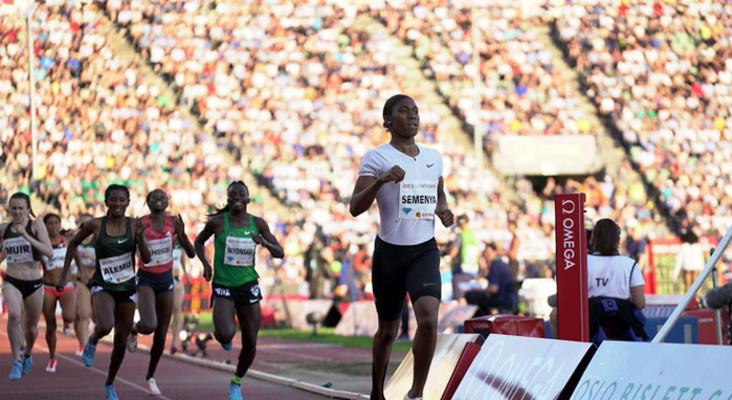 Semenya cruises to Diamond League victory in Oslo