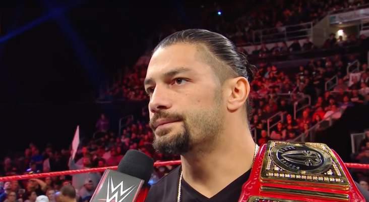 WWE'S Roman Reigns makes shocking leukemia announcement, relinquishes title
