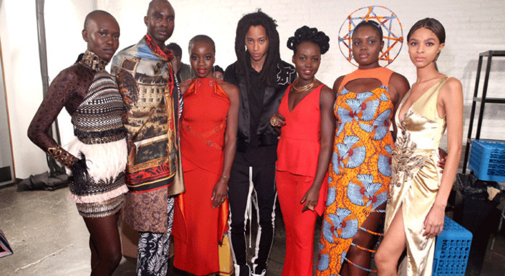 #BlackPanther fashion takes centre stage at NY Fashion Week