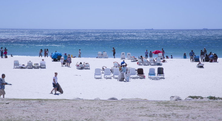 Number of South Africans visiting the seaside has dropped