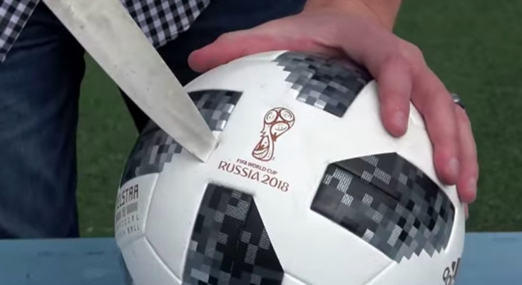 [WATCH] Ever wondered just what's inside a World Cup Soccer ball? Find out here