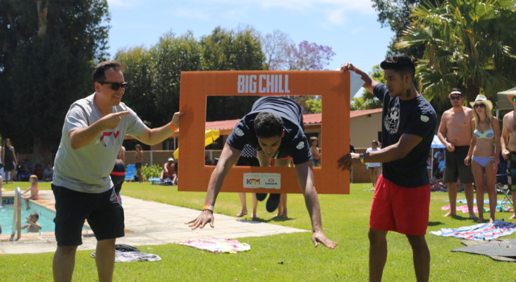 What Went Down at the KFM Big Chill with Engen