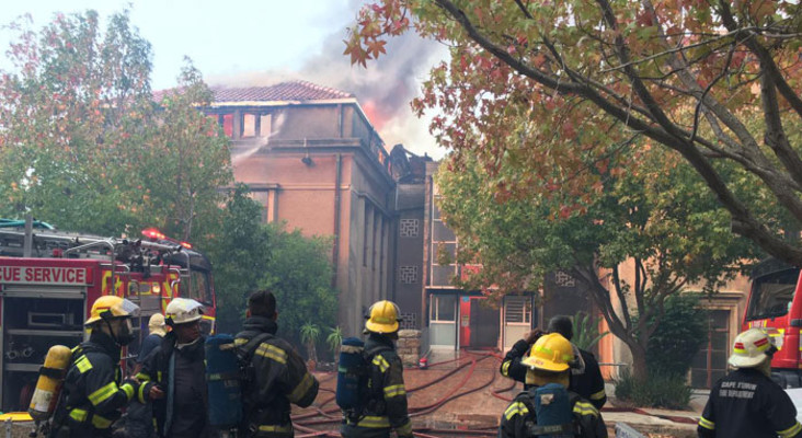 UCT管理,消防当局评估福彩36选7造成的损坏