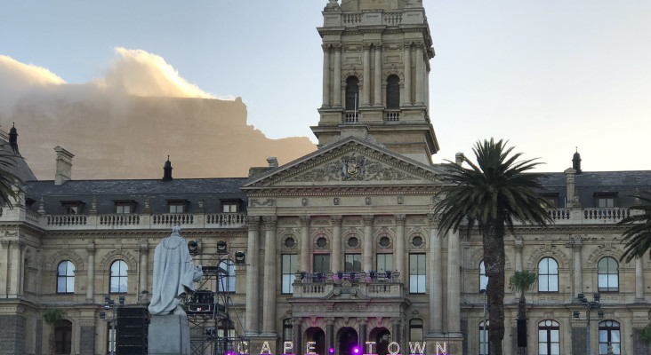 Cape Town's lights get switched on