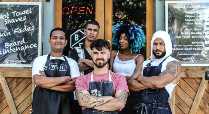 [LISTEN] Barnet Fair Barber shop needs your support - here's how you can help