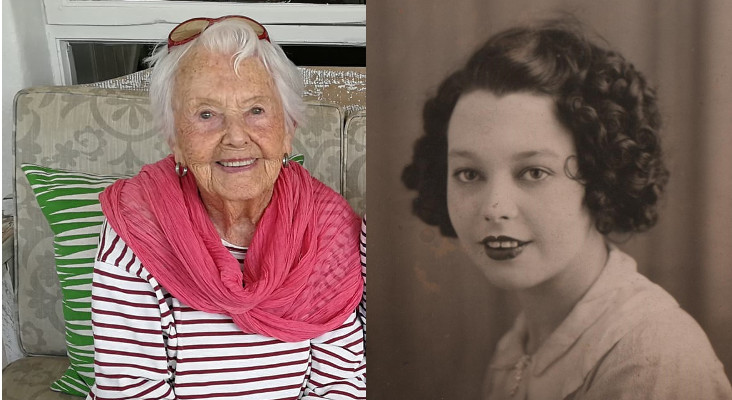 Kfm Mornings chats to Granny Iris for her 100th birthday!