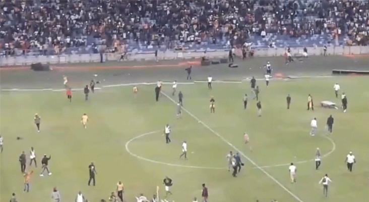 Sascoc: No excuse for Moses Mabhida Stadium fan violence