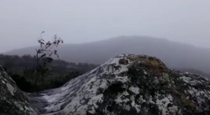[WATCH] Table Mountain got snow!