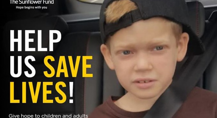 Help save Liam's life by donating your bone marrow