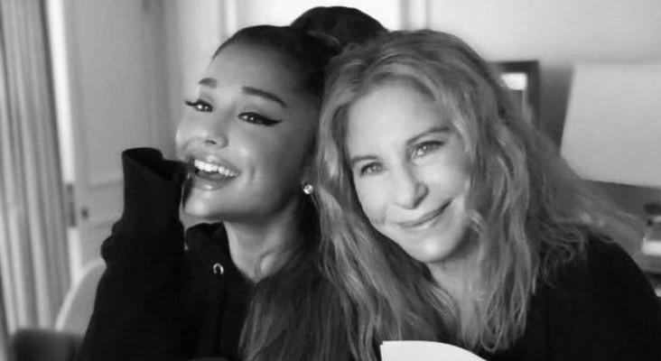 [WATCH] Ariana Grande left sobbing after a surprise duet with Barbra Streisand