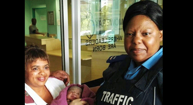 Special delivery: Traffic officer delivers baby in peak CT traffic