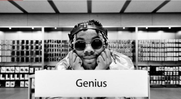 #NewMusicMonday: Rapper records album secretly in Apple Store!