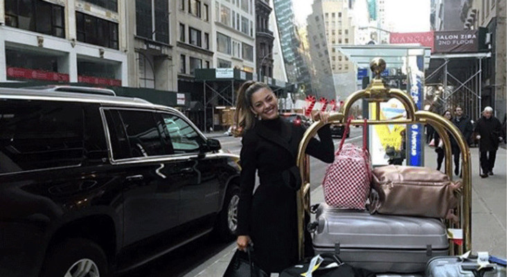 Bright lights, big city: Miss Universe Nel-Peters arrives in New York