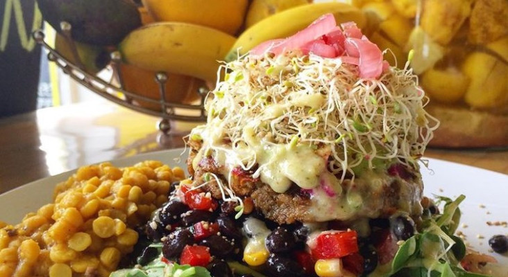 Cape Town's 'best veggie burger' probably (arguably, of course) the finest in SA