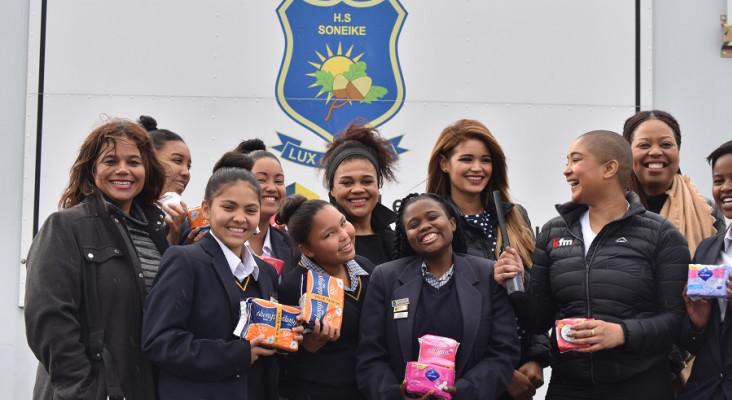 Dis-Chem Foundation and  Imbumba bring sanitary pads to rural school girls