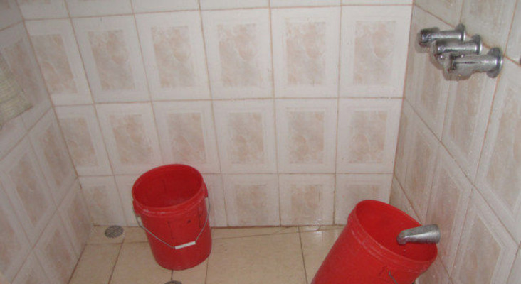 WATCH: Capetonian kicks off shower bucket challenge