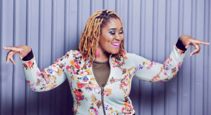 Lady Zamar's Dreaming on the CokeTop40CT
