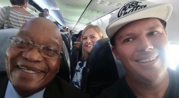 Zuma on a plane, Chewbacca's special delivery and woman's rant over Telkom