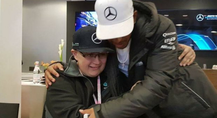 Lewis Hamilton dedicates Grand Prix win to young South African cancer sufferer
