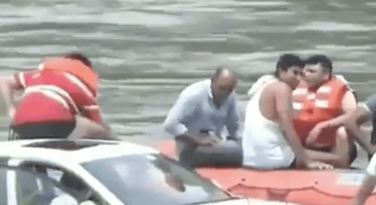 Man pushes BMW into river because he wanted a Jaguar instead