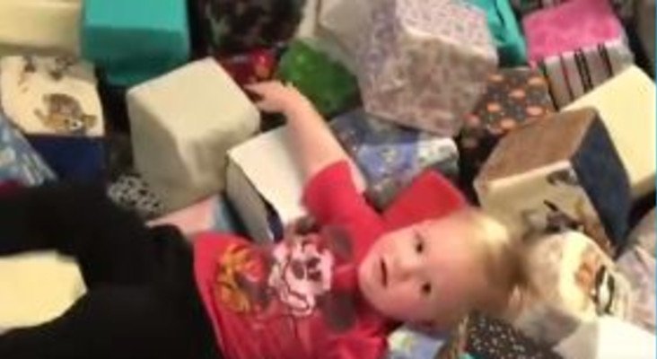 [WATCH] Little boy crashes while trying out zip lining... so adorable!