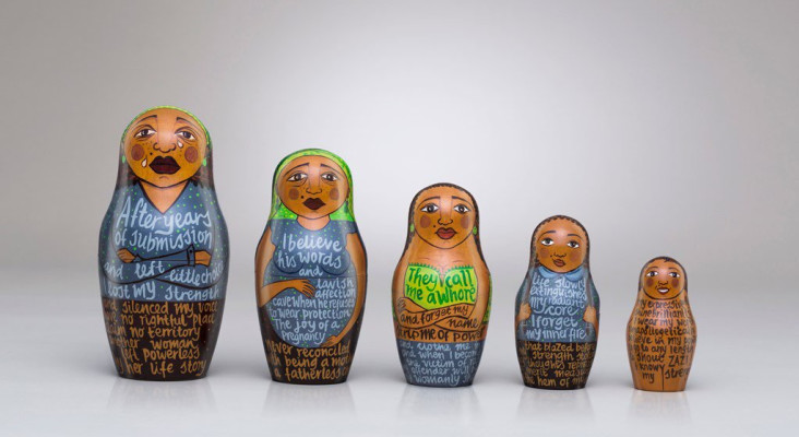 Campaign uses Babushka dolls  to empower women and highlight sexual rights