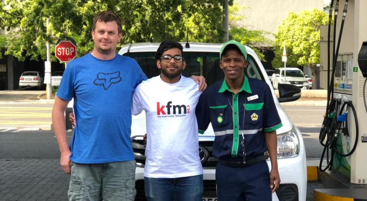 WATCH as we surprise these Kfm listeners by paying for their petrol at the pump