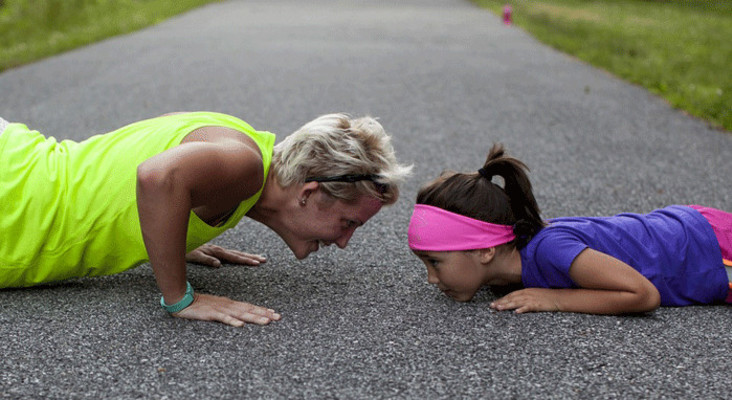 If kids want to train, how far should they be running?