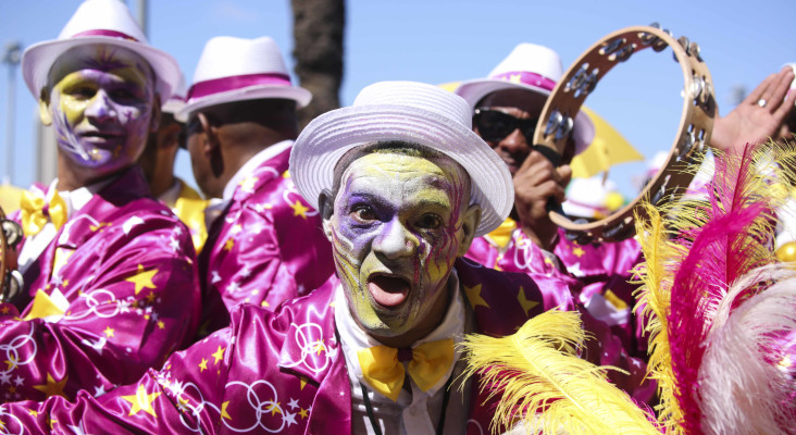 [GALLERY] All the colours & costumes at the Cape Town Minstrel Parade