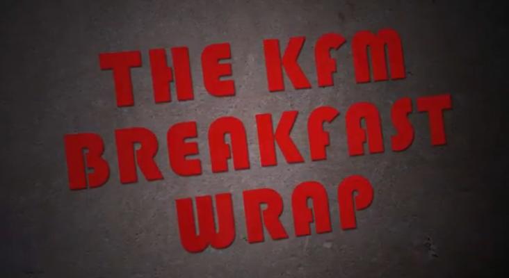 The KFM Breakfast Wrap