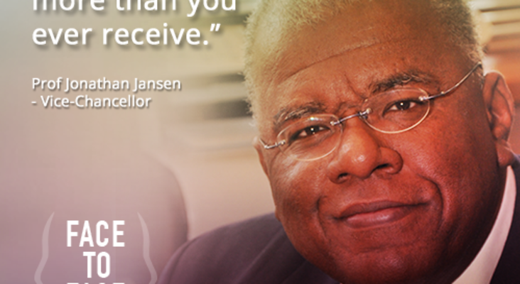 Face To Face with Success: Jonathan Jansen