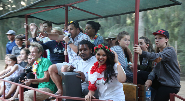 Pools, Parades and Parties - Day 1 at the KFM Big Chill with Engen
