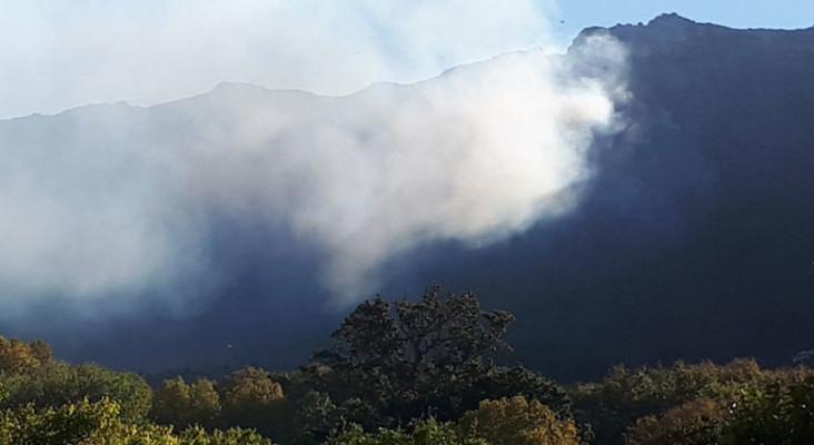 Firefighters battle blaze above Kirstenbosch Gardens