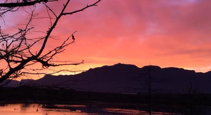 Sun Rises On Cape Town