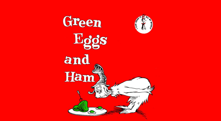 John Maytham delights with Green Eggs and Ham on World #ReadAloud Day