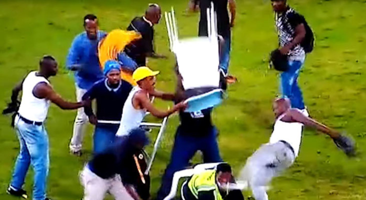 Kaizer Chiefs to probe Moses Mabhida stadium fan violence