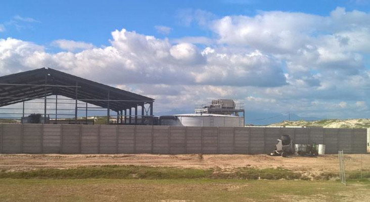 Cape Town desalination plants are in full swing