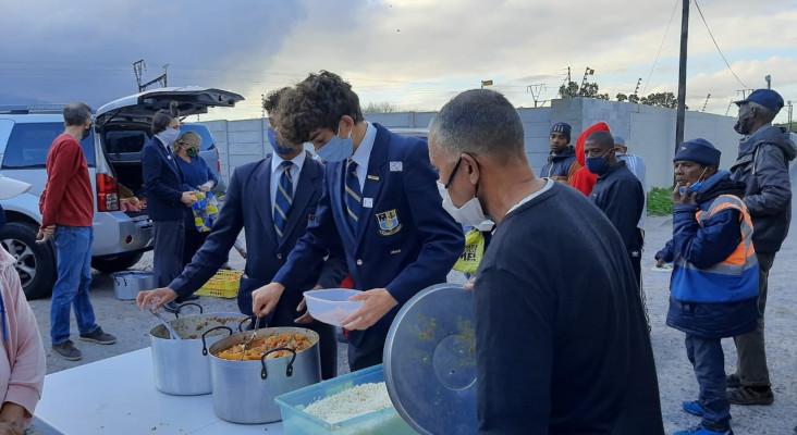 Rondebosch Boys' Grade 11 use next year's matric ball money to feed the needy