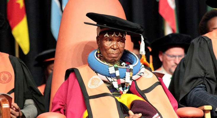 Esther Mahlangu honoured with doctoral degree at UJ