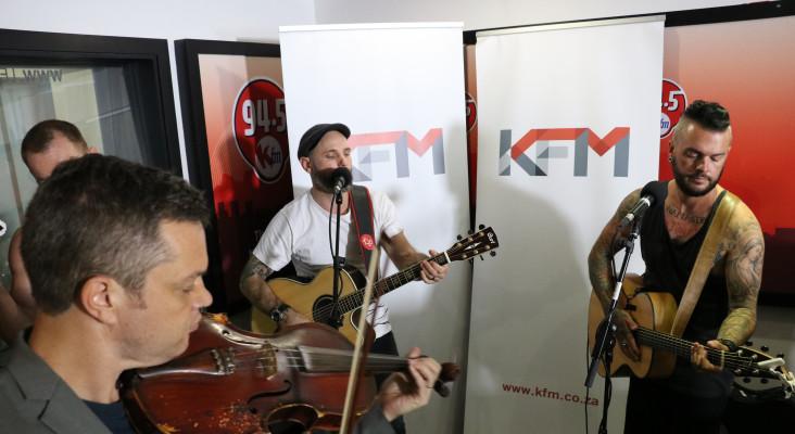 Parlotones Perform LIVE on KFM Brunch