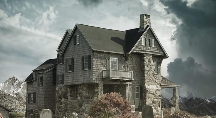 Darren's Prank - The Haunted House
