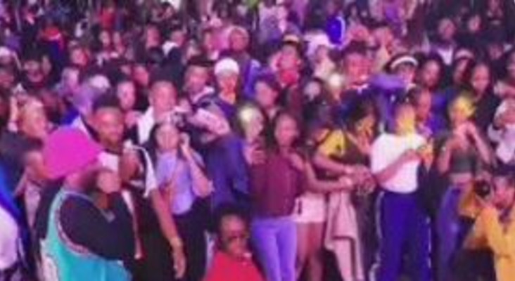 [WATCH] Riky Rick dancing with wheelchair-bound fan warms people's hearts